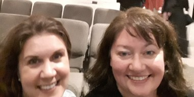 Kelly Wypych and Glenna S. Edwards at BRMCWC May 2018