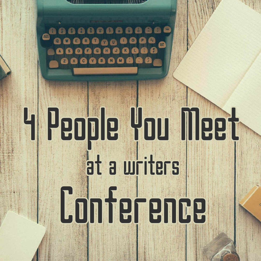 Pic 4 People You Meet at a Writers Conference