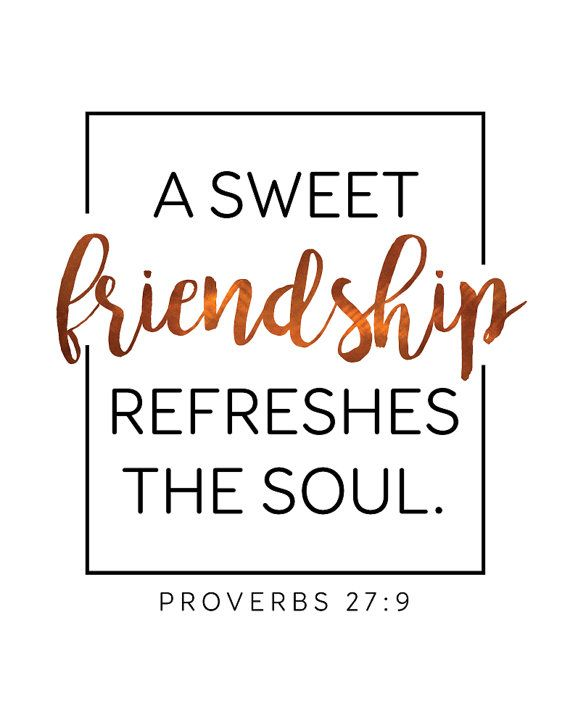 friendship proverbs 27 9