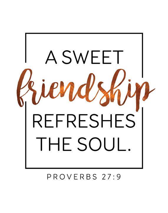 friendship proverbs 27 9
