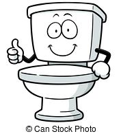 toilet-clipart-canstock27123420